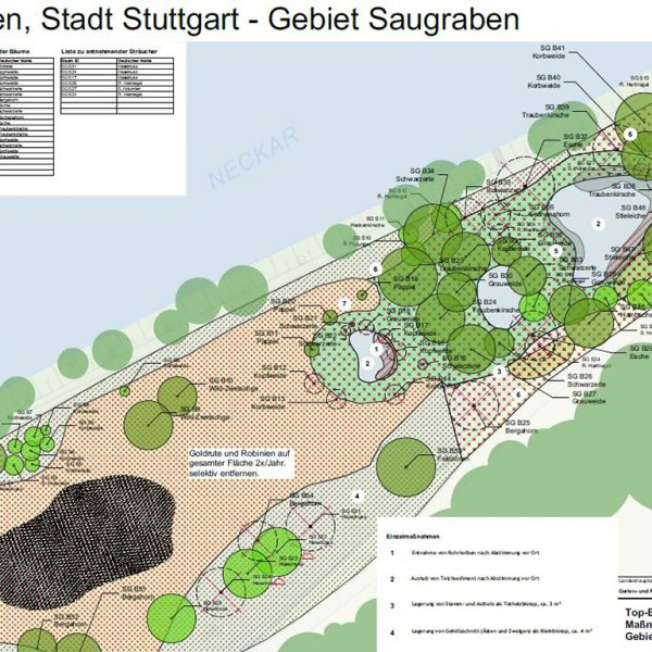Top-E-Flächen, Stadt Stuttgart - Gebiet Saugraben