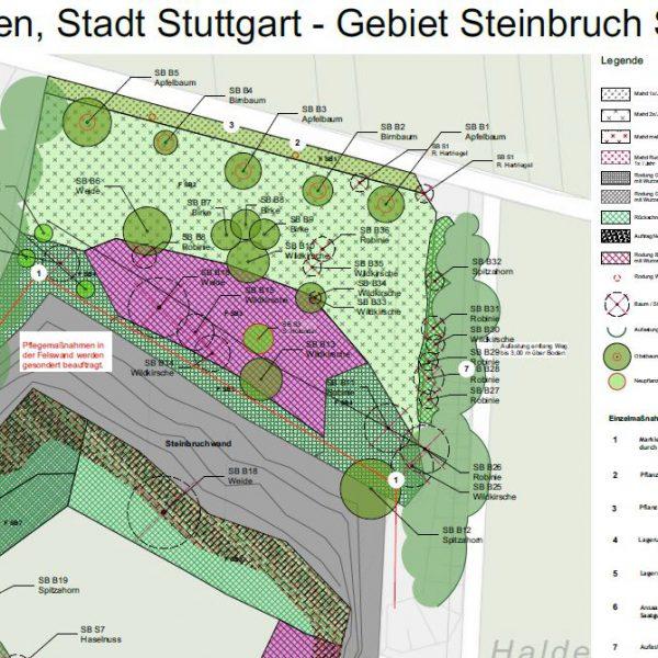 Top-E-Flächen, Stadt Stuttgart - Gebiet Steinbruch Stephan